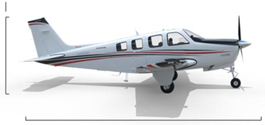 机身为半硬壳式结构,主要由铝合金制成.